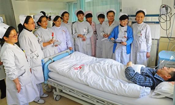 山西医大二院心内科打造人性化护理队伍