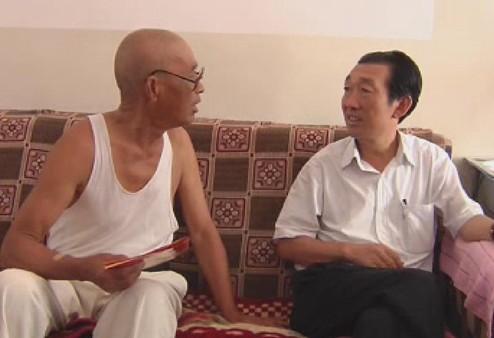 王宁书记 七一 慰问老党员