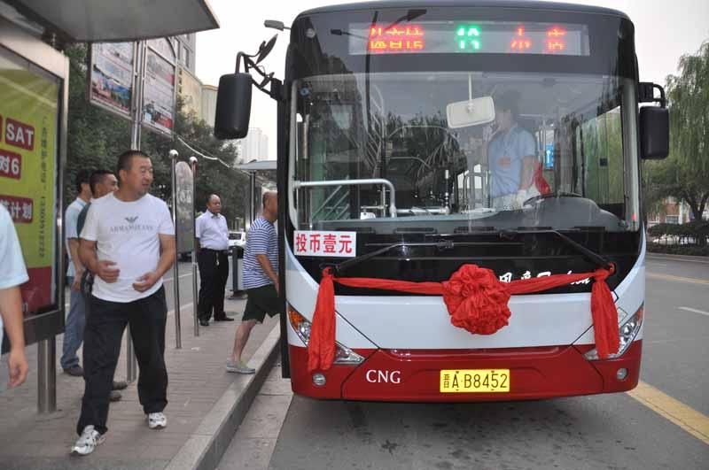 太原启用新公交车 双层巴士年底将全部退出运营