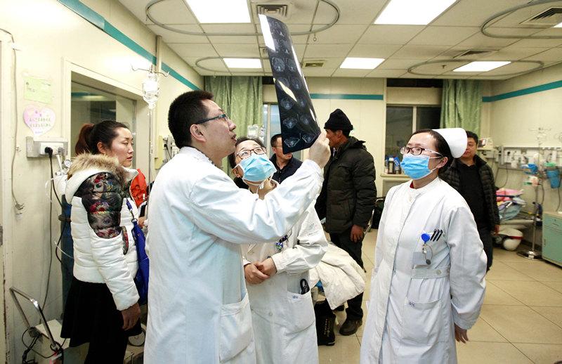 坚守岗位的山西省人民医院医护人员(组图)