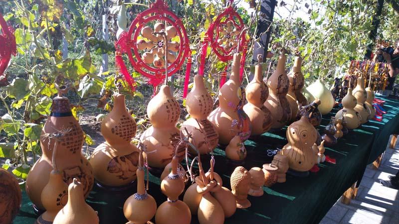 葫芦工艺品-山西永济打造葫芦文化创意之都