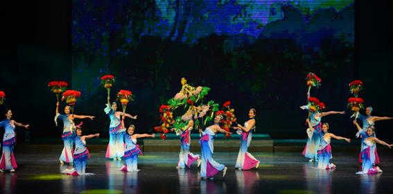山西省永济市第五届鹳雀楼诗歌文化节开幕