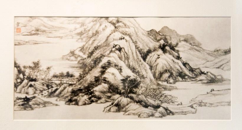 墨笔兰竹等,集中展现了张雷先生近年来深入研究宋元以来山水画传统图片