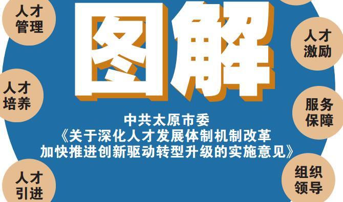 图解:中共太原市委《关于深化人才发展体制机制改革加快推进创新驱动转型升级的实施意见》