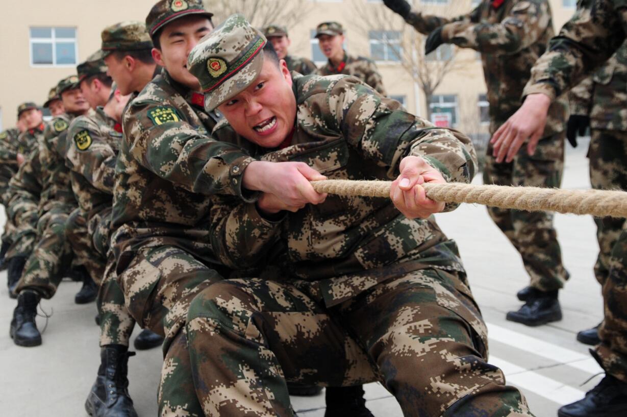 武警忻州支队春节期间文化活动精彩纷呈