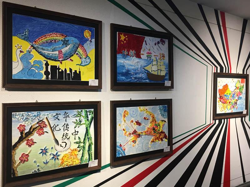 太原市举办少儿美术作品展