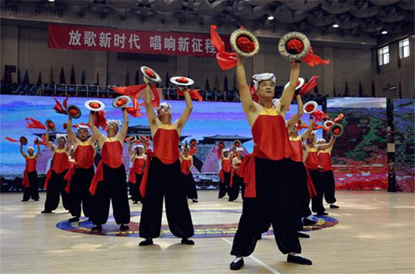 山西省庆祝改革开放40周年群众文化系列活动今日启动