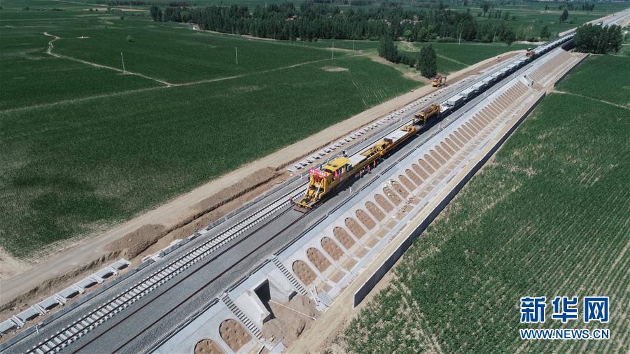 大张高铁山西段建设有序推进