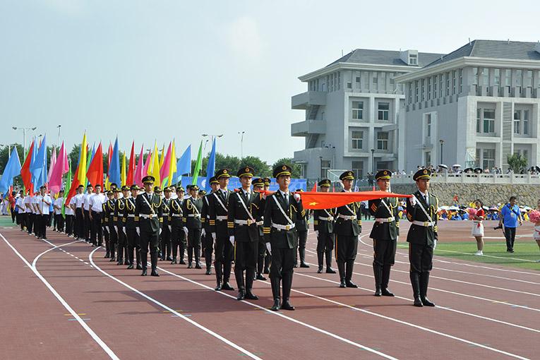 山西省第二十一届大中学生田径运动会开幕