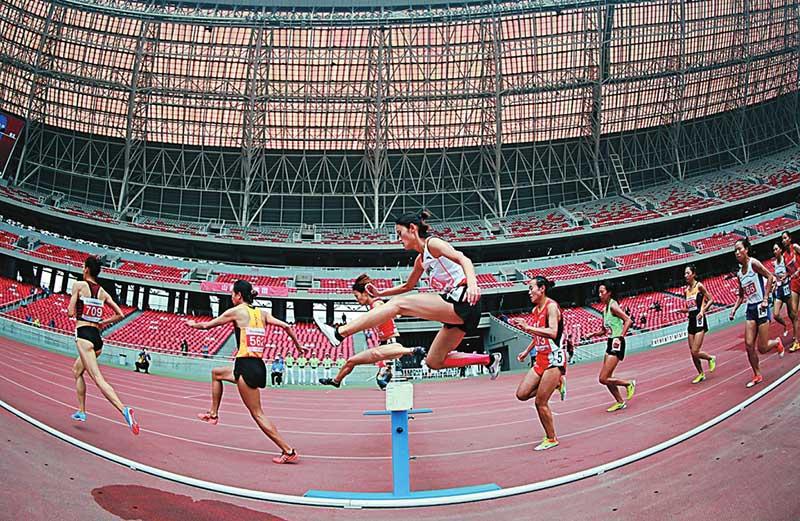 2018年全国田径锦标赛太原启幕