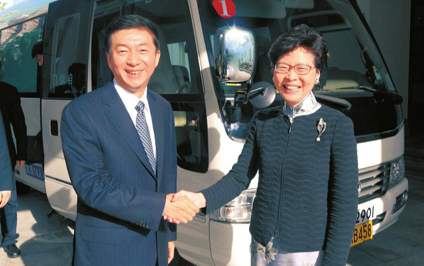 骆惠宁率山西代表团在香港考察招商