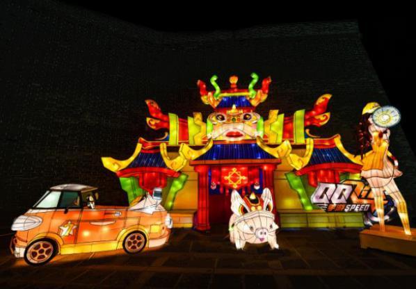 观古都灯会 赏天下大同 2019中国大同古都灯会开幕