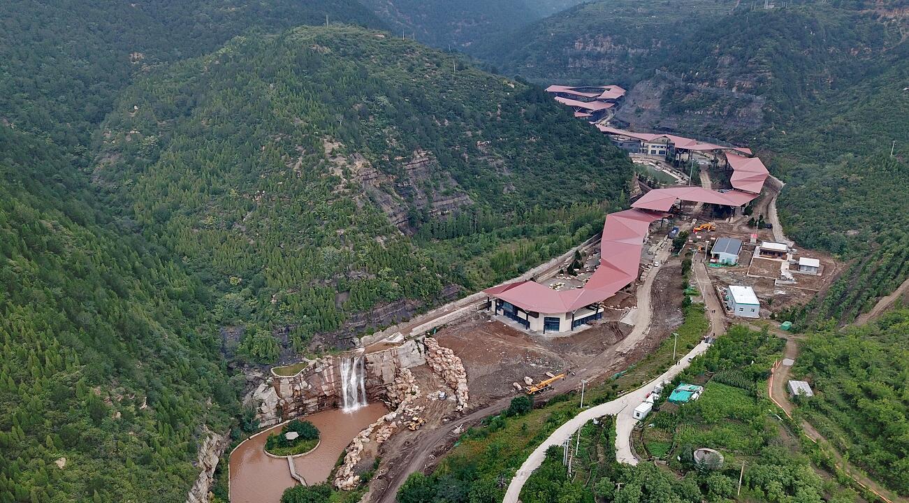天龙山景区窑头村游客服务中心将于国庆节前建成投用