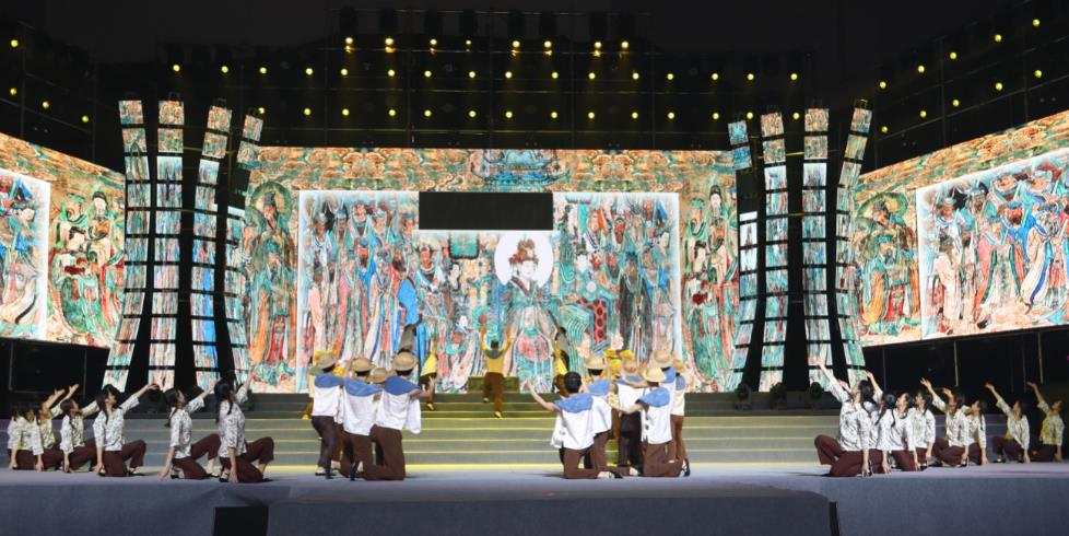 诗情画意山西(芮城)永乐宫第十届书画艺术节开幕