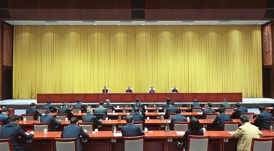 中央第一生态环境呵护督察组督察山西省发动会在太原召开