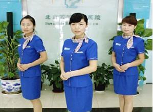 北京曙光医院美女护士变身空姐惊艳亮相