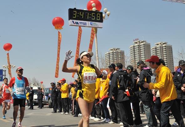 中国郑开国际马拉松赛 山西队取得好成绩