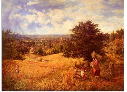 19世纪英国印象派风景画家 乔治·威廉·穆特图片
